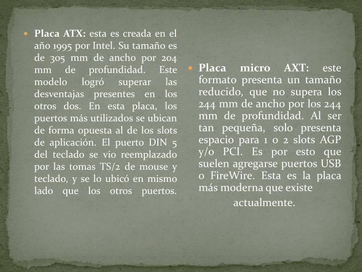Placa ATX: