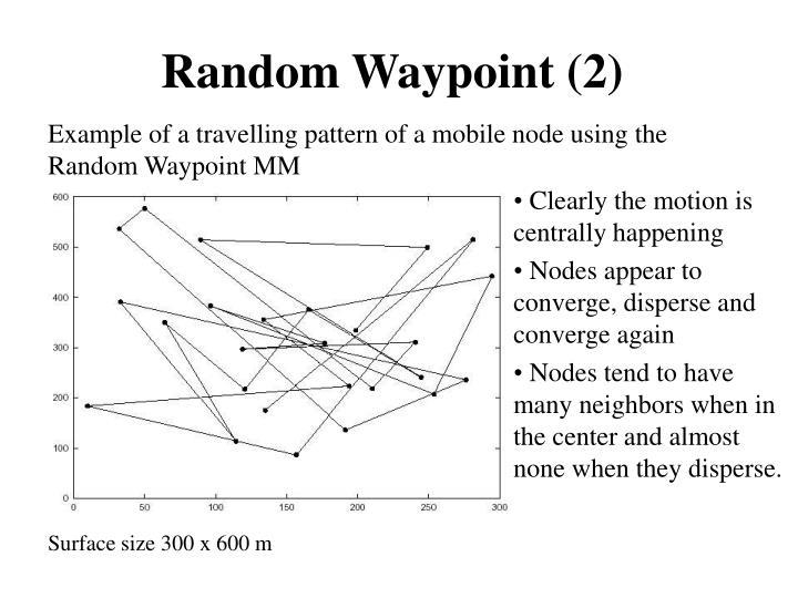 Random Waypoint (2)