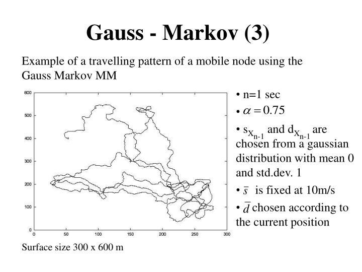 Gauss - Markov (3)