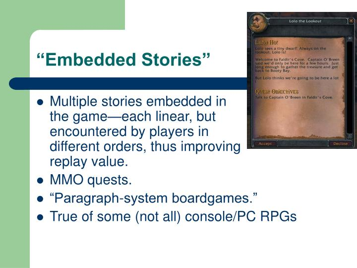 """Embedded Stories"""