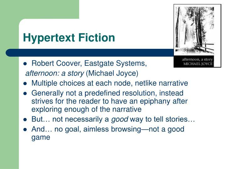 Hypertext Fiction