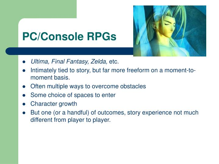 PC/Console RPGs