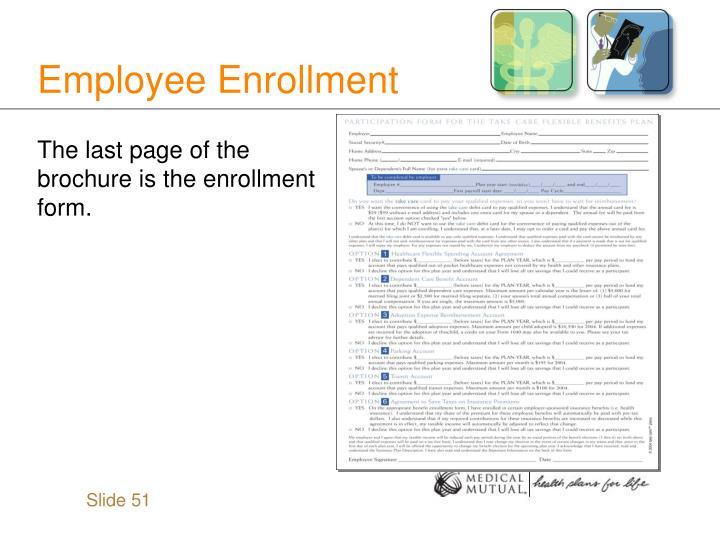 Employee Enrollment