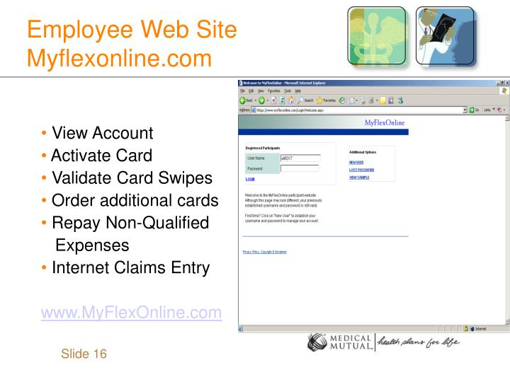 Employee Web Site