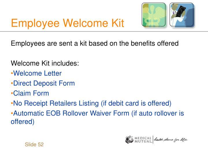 Employee Welcome Kit