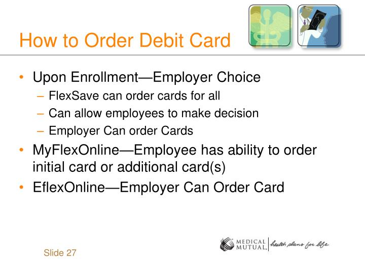 How to Order Debit Card