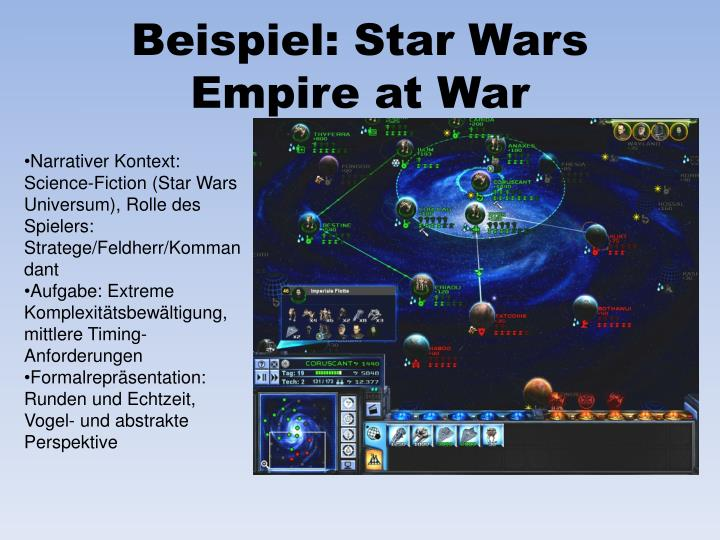 Beispiel: Star Wars Empire at War