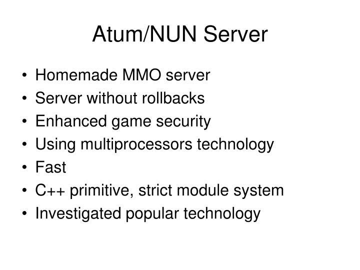 Atum/NUN Server