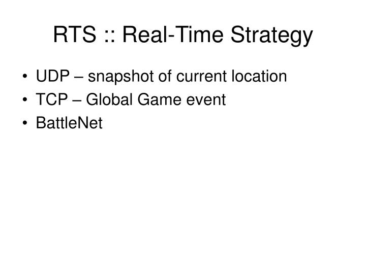 RTS :: Real-Time Strategy