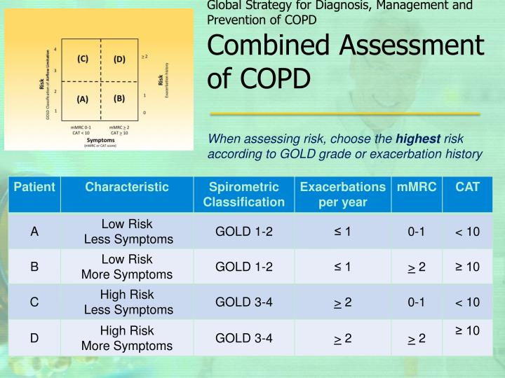 Global Strategy for Diagnosis, Management and Prevention of COPD