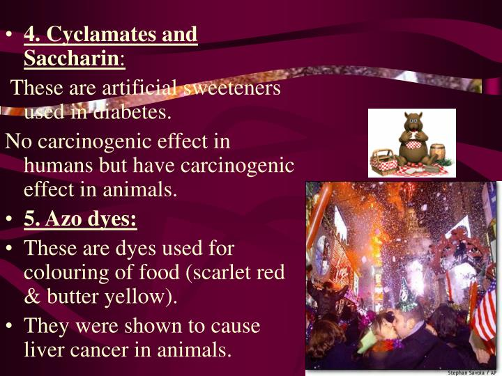 4. Cyclamates and Saccharin