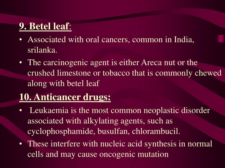 9. Betel leaf