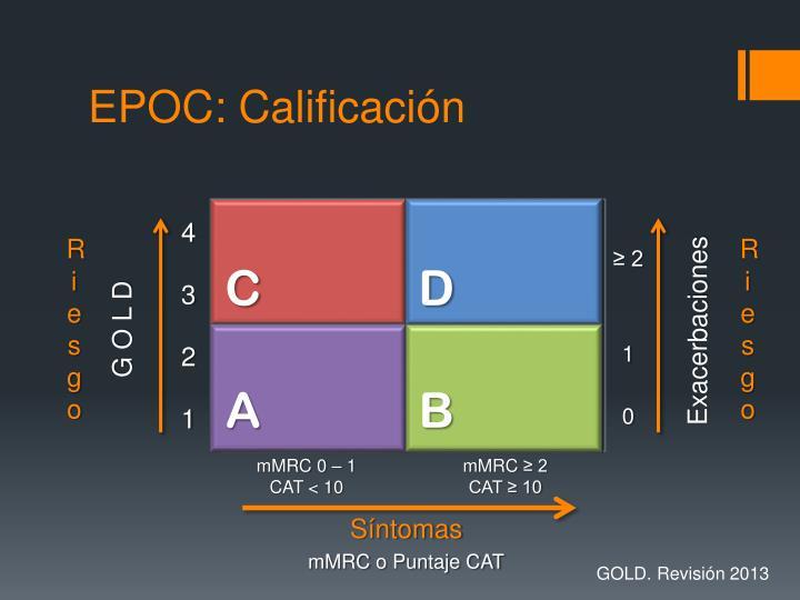 EPOC: Calificación