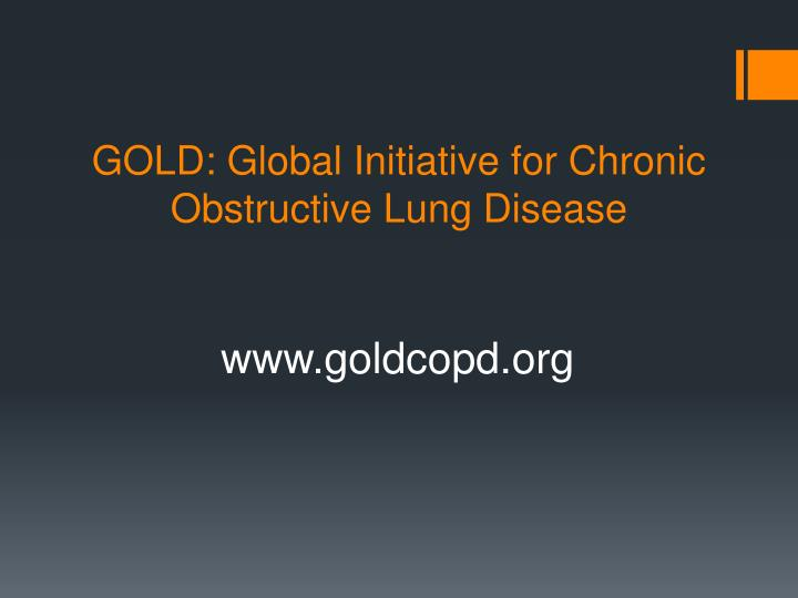 GOLD: Global