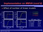 implementation on mmva cont d1