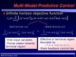 multi model predictive control