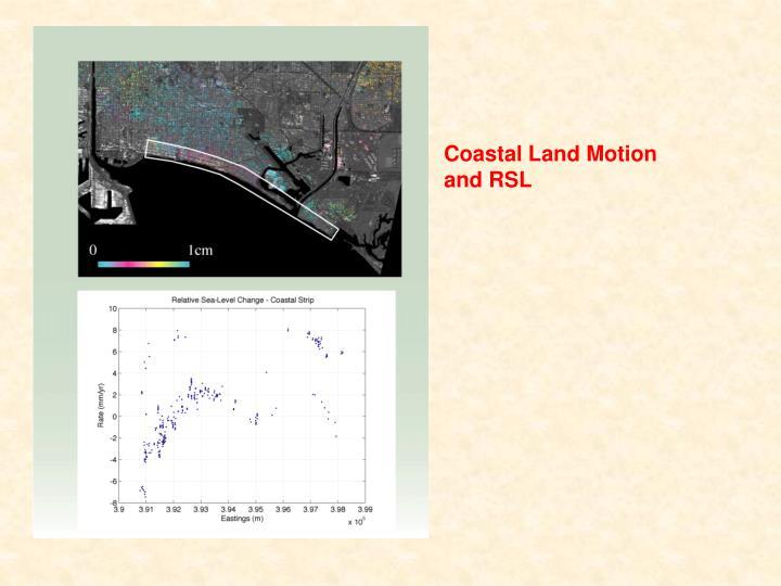 Coastal Land Motion