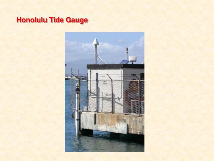 Honolulu Tide Gauge