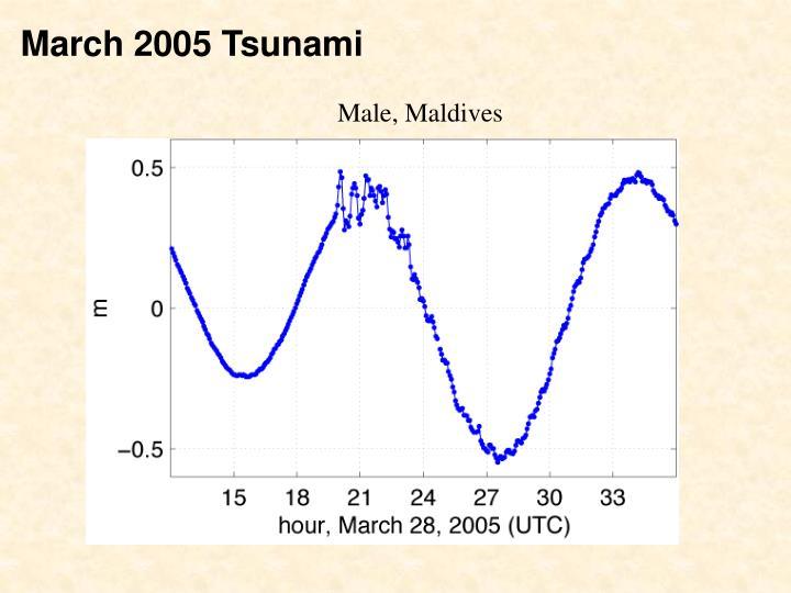 March 2005 Tsunami