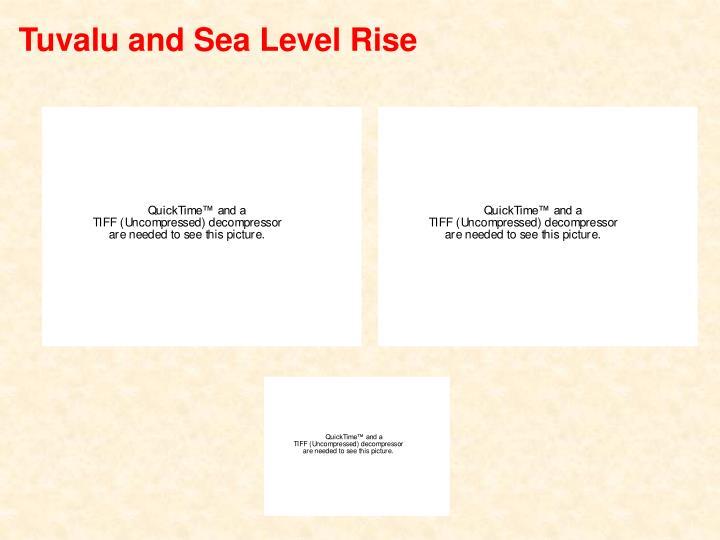 Tuvalu and Sea Level Rise