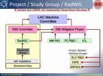 project study group radwg1