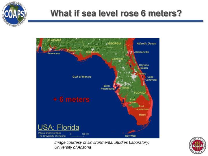 What if sea level rose 6 meters?
