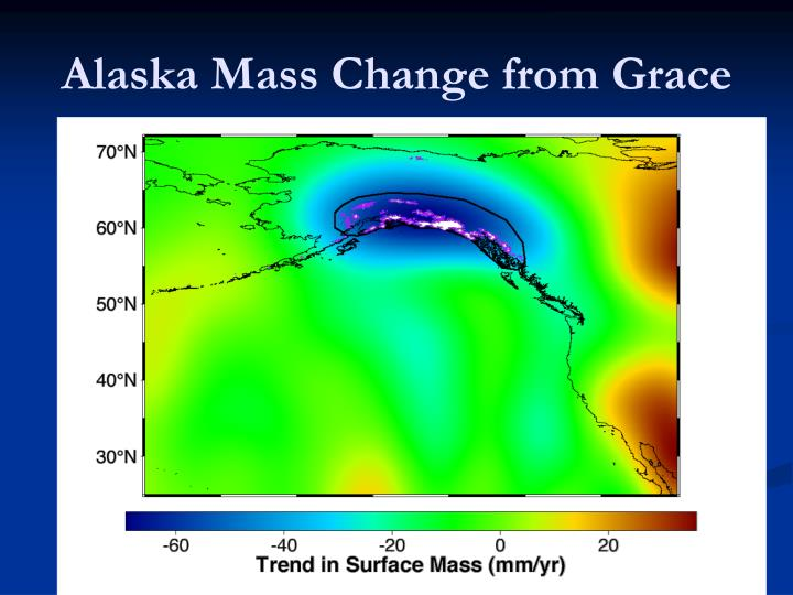 Alaska Mass Change from Grace