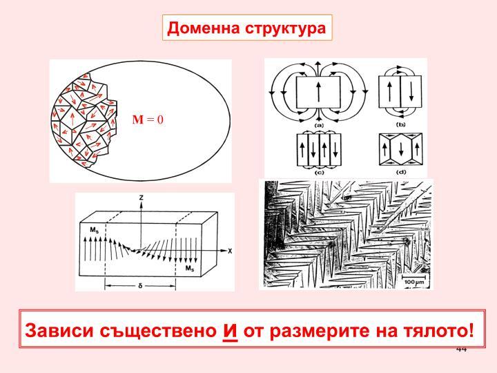Доменна структура
