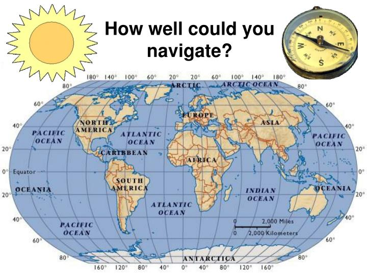 How well could you navigate?
