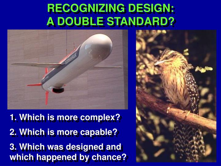 RECOGNIZING DESIGN: