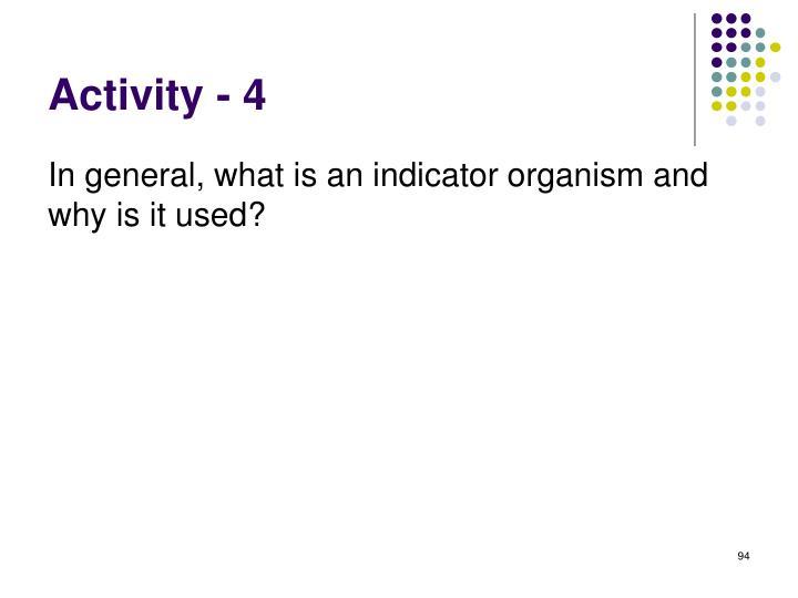 Activity - 4