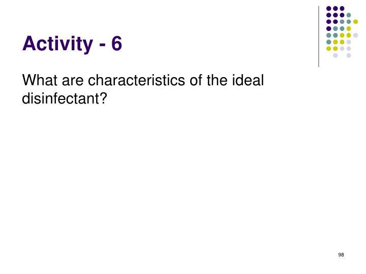 Activity - 6