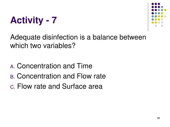 Activity - 7