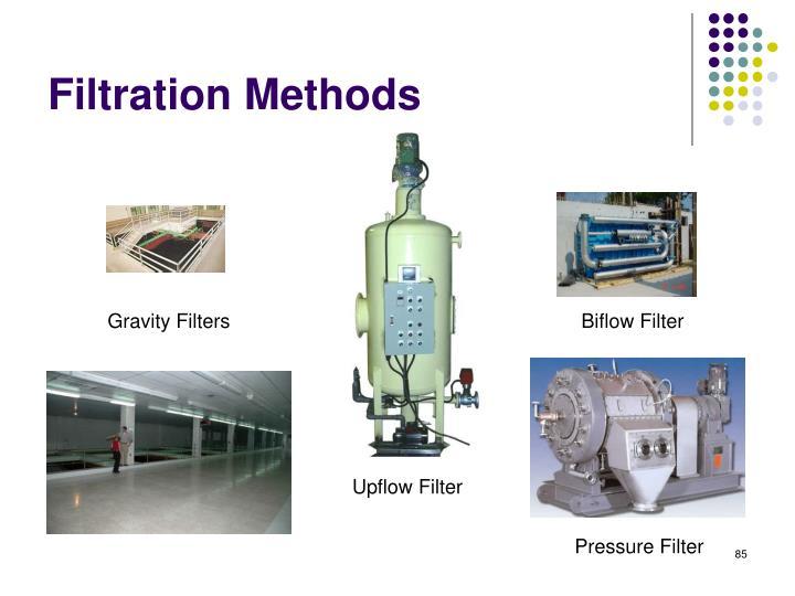 Filtration Methods