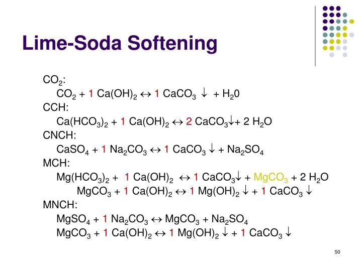 Lime-Soda Softening