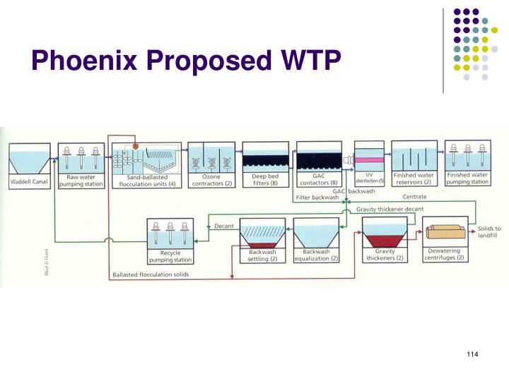 Phoenix Proposed WTP