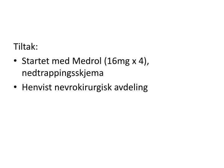 Tiltak: