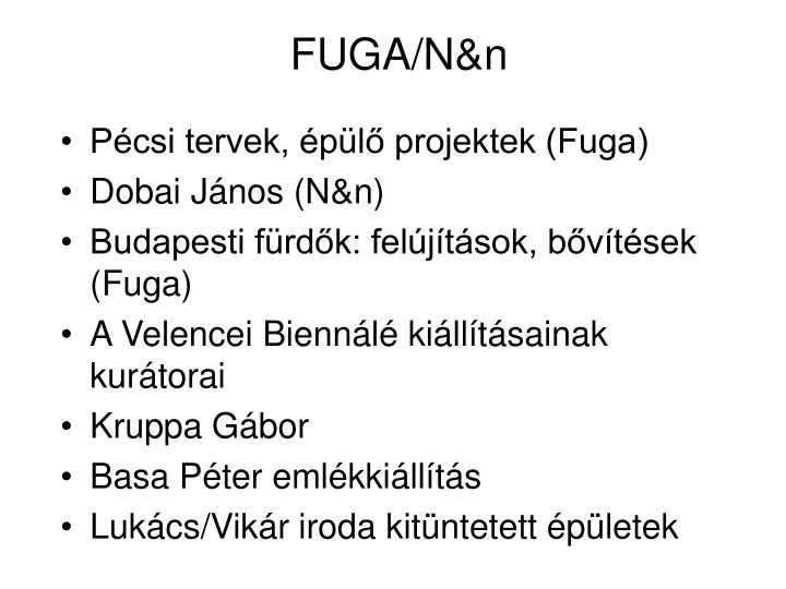 FUGA/N&n