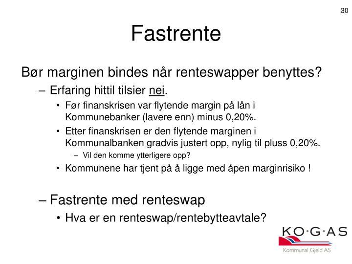 Fastrente