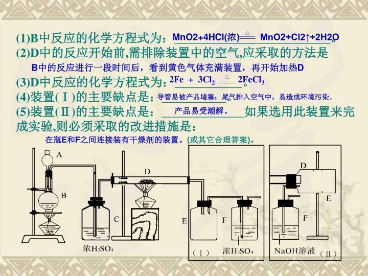 MnO2+4HCl(