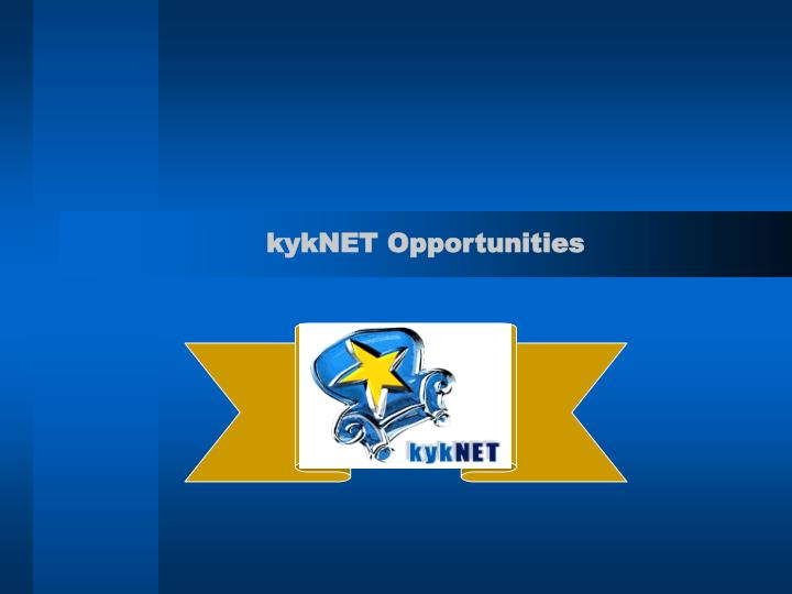 KykNET Opportunities