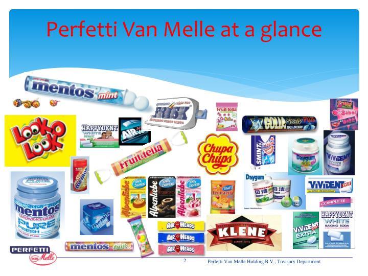 Perfetti Van Melle at a glance
