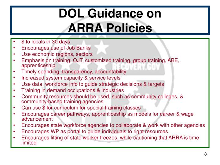 DOL Guidance on