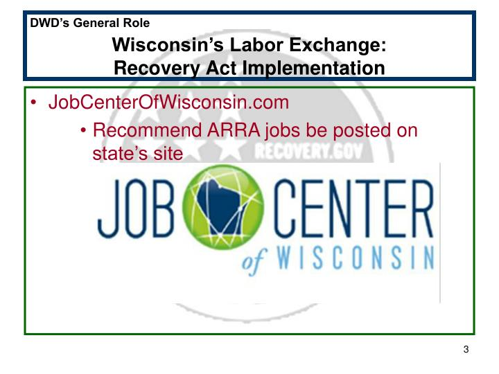 Wisconsin's Labor Exchange:
