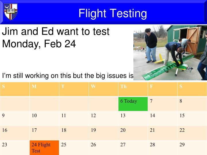 Flight Testing