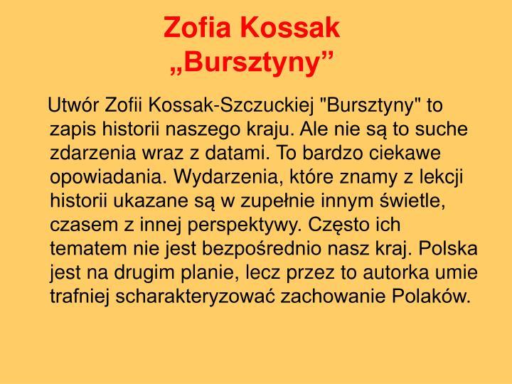 Zofia Kossak