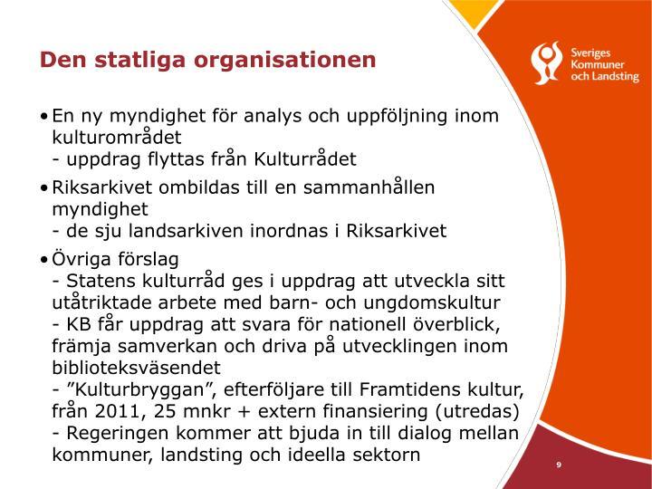 Den statliga organisationen