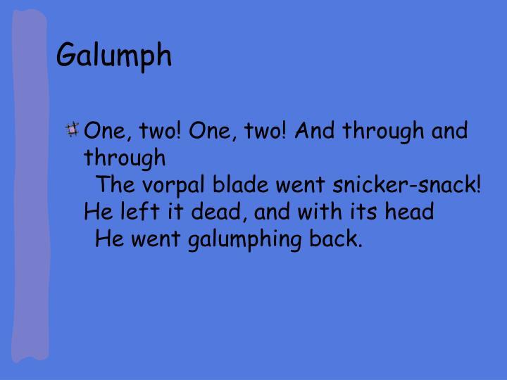 Galumph