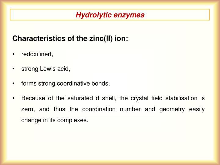 Hydrolytic