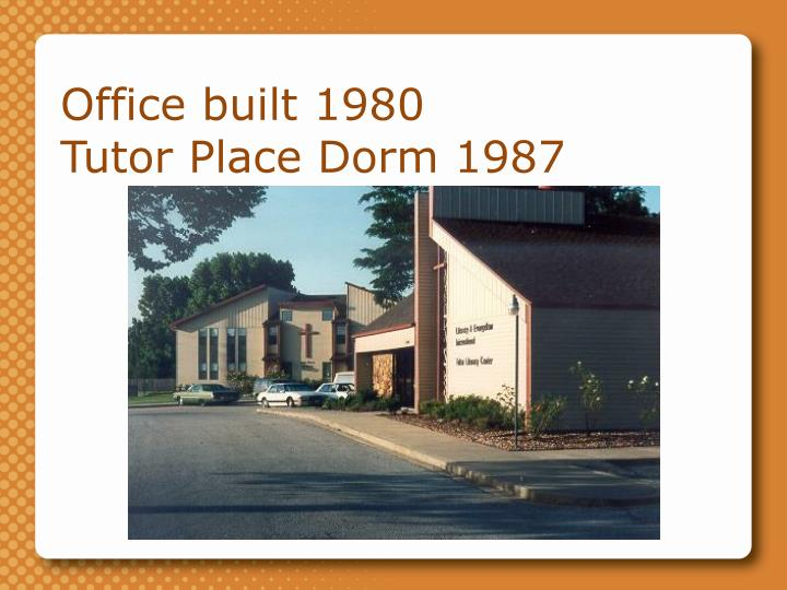 Office built 1980
